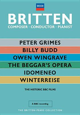 BRITTEN-PEARS COLLECTION (DVD)